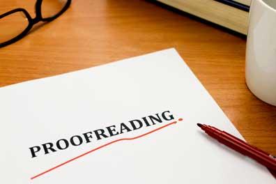 Proofreading nedir