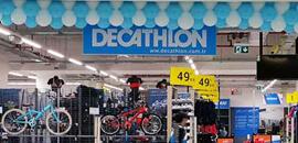 decathlon mağaza için logo